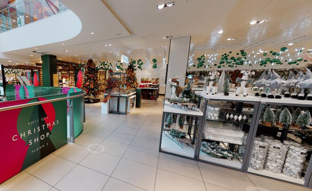 Virtual Christmas Shop
